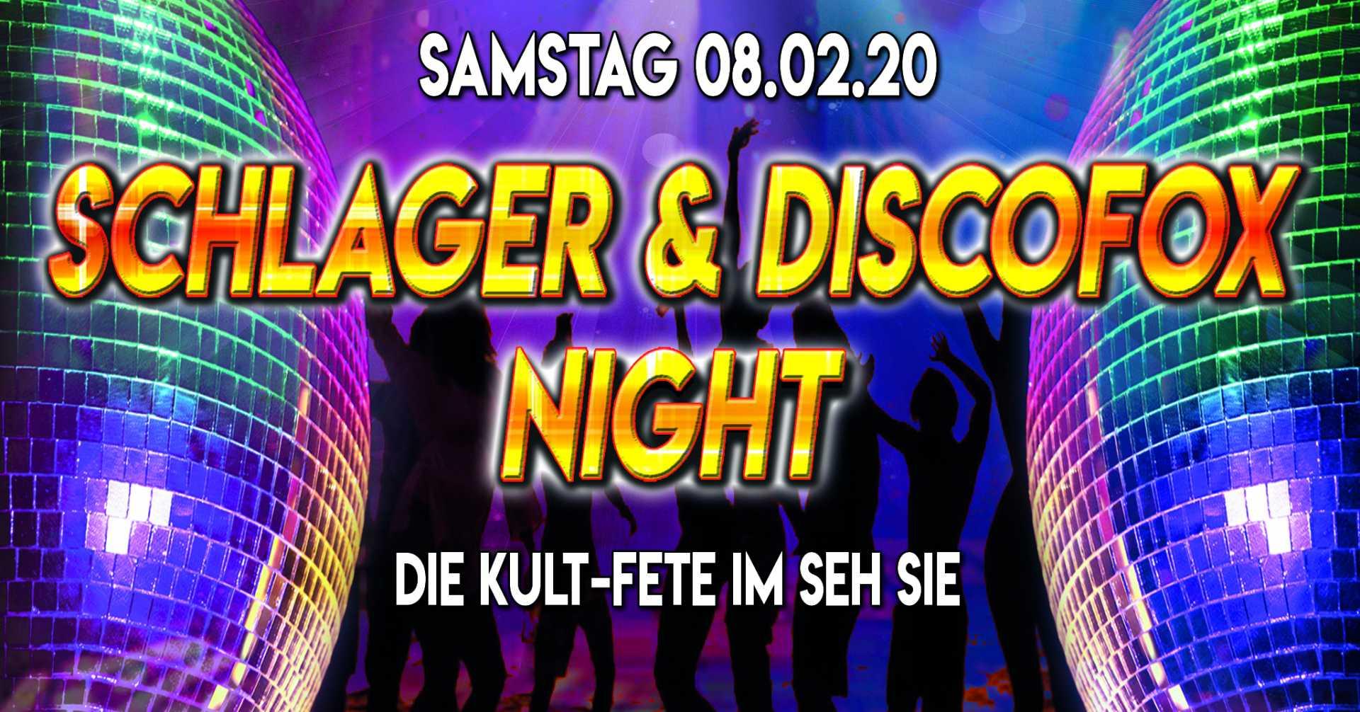 08.02.2020 Schlager & Discofox Night