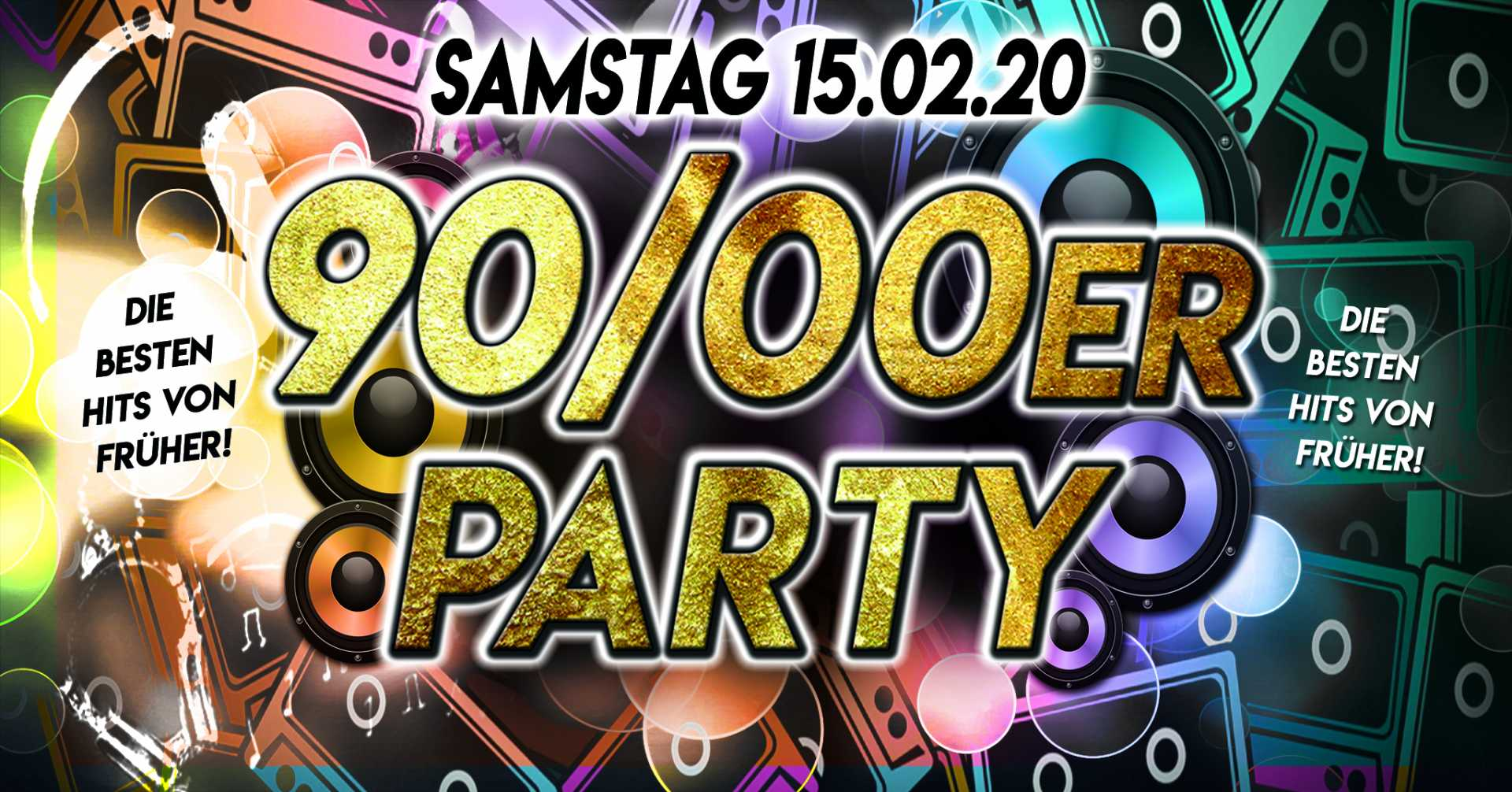 15.02.2020 90/00er Party