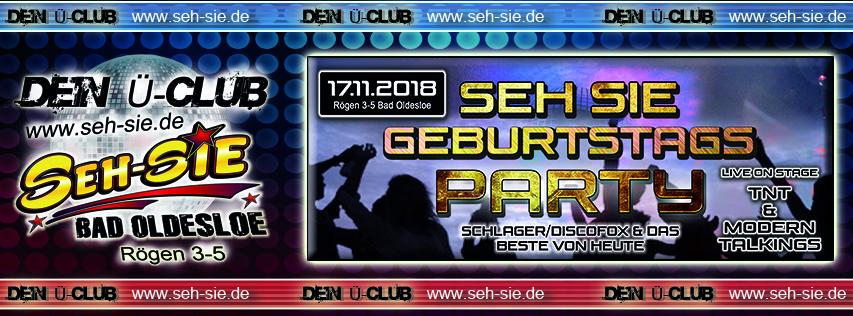 Seh Sie Geburtstag Party 17.11.2018