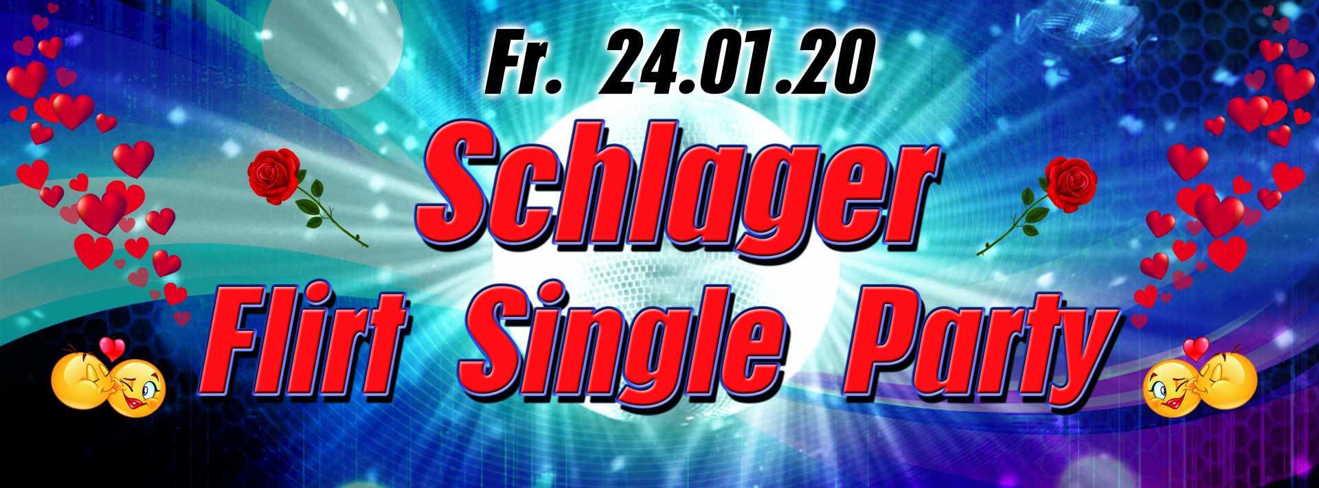 24.01.2020 Schlager Flirt Single Party